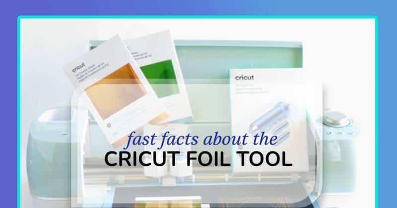 cricut foil tool feature image