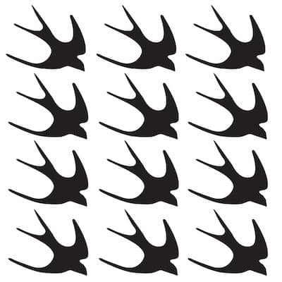 free swallow bird SVG file