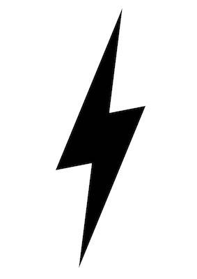 lightning bolt SVG