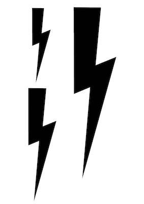 lightning bolt svg file