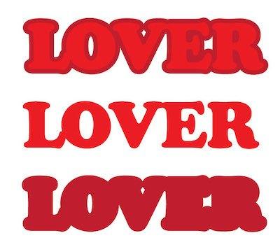 Schitt's Creek LOVER hoodie SVG