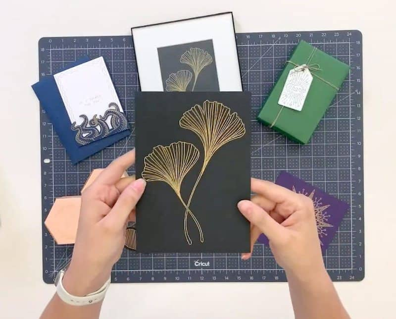 what projects can I make with the cricut foil tool