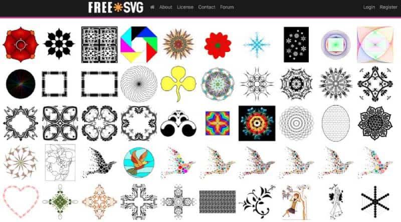 freesvg screenshot