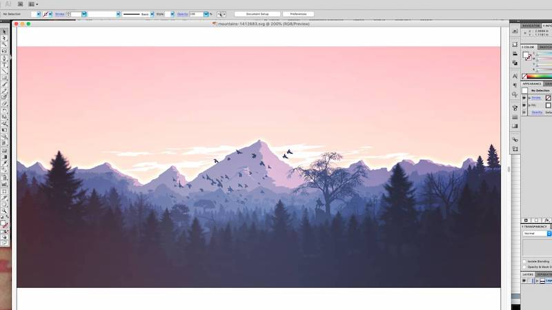 adobe illustrator screenshot