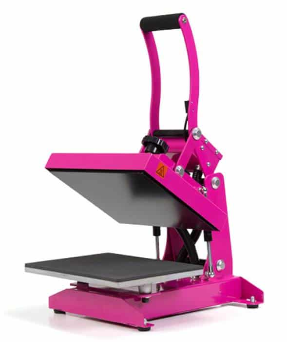 hotronix pink heat press
