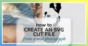 how to convert a photograph to svg cut file