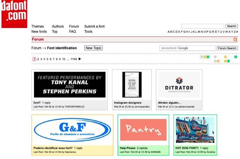 dafont-font-identifier-forum-screengrab