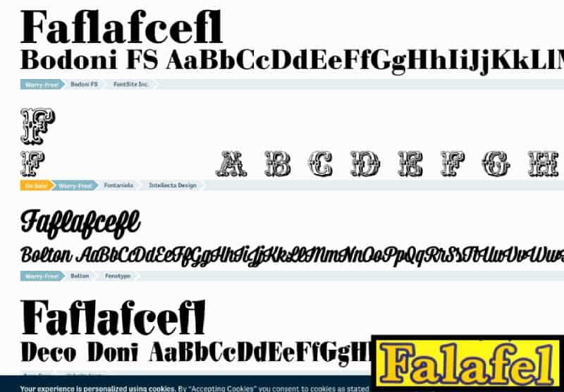 The Fontspring Matcherator offers head scratching results for round t test font