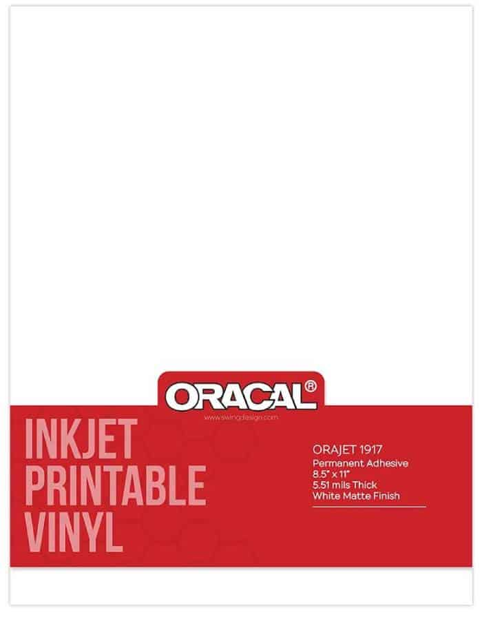 oracal 1917 printable adhesive vinyl for inkjet printer